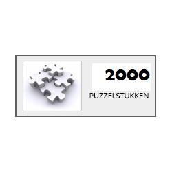 Puzzels 2000 stukjes